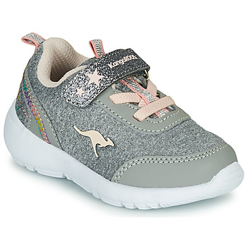 Zapatos Niña Zapatillas bajas Kangaroos KY-Citylite EV Gris / Rosa