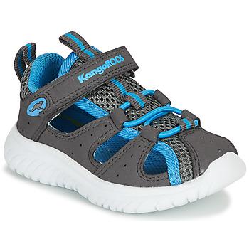 Zapatos Niño Sandalias Kangaroos KI-ROCK LITE EV Gris / Azul