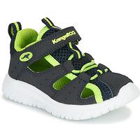 Zapatos Niño Sandalias Kangaroos KI-ROCK LITE EV Azul / Amarillo