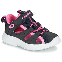 Zapatos Niña Sandalias Kangaroos KI-Rock Lite EV Azul / Rosa