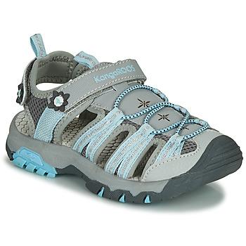Zapatos Niña Sandalias de deporte Kangaroos KT-Sonata Gris