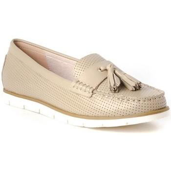 Zapatos Mujer Mocasín Stephen Allen 17103-70 beige