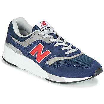 Zapatos Zapatillas bajas New Balance 997 Azul / Rojo