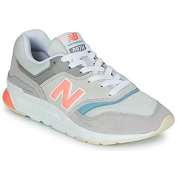 Zapatos Mujer Zapatillas bajas New Balance 997 Gris / Azul / Rosa