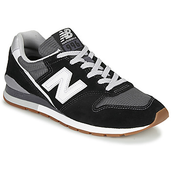 Zapatos Zapatillas bajas New Balance 996 Negro / Blanco