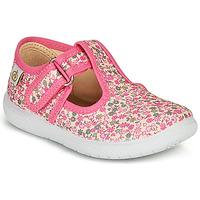 Zapatos Niña Bailarinas-manoletinas Citrouille et Compagnie MATITO Rosa / Multicolor