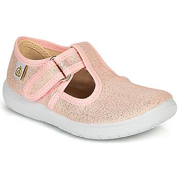 Zapatos Niña Bailarinas-manoletinas Citrouille et Compagnie MATITO Rosa / Metalizado