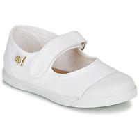 Zapatos Niña Bailarinas-manoletinas Citrouille et Compagnie APSUT Blanco