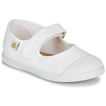 Zapatos Niños Bailarinas-manoletinas Citrouille et Compagnie APSUT Blanco