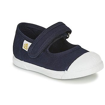 Zapatos Niños Bailarinas-manoletinas Citrouille et Compagnie APSUT Azul / Marino
