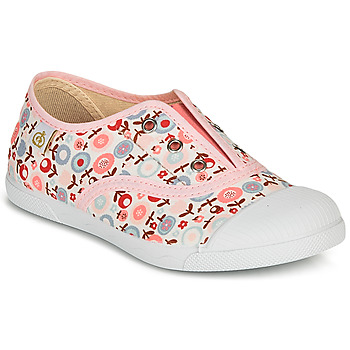 Zapatos Niña Zapatillas bajas Citrouille et Compagnie RIVIALELLE Rosa / Multicolor