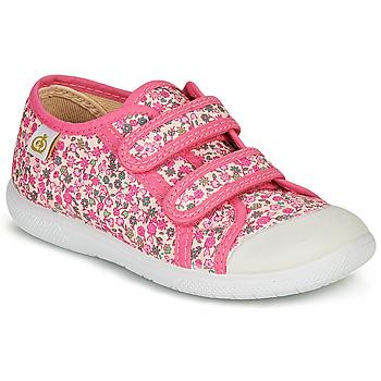 Zapatos Niña Zapatillas bajas Citrouille et Compagnie GLASSIA Rosa / Multicolor