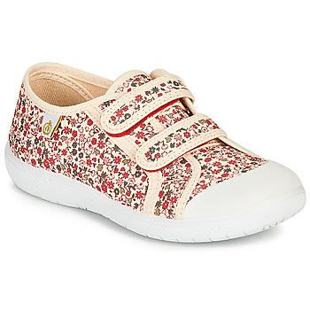 Zapatos Niña Zapatillas bajas Citrouille et Compagnie GLASSIA Crudo / Multicolor