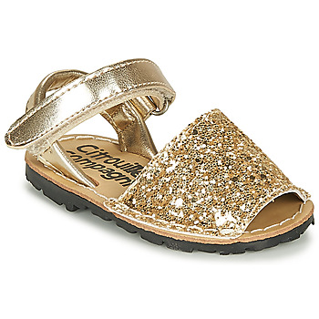 Zapatos Niña Sandalias Citrouille et Compagnie SQUOUBEL Oro