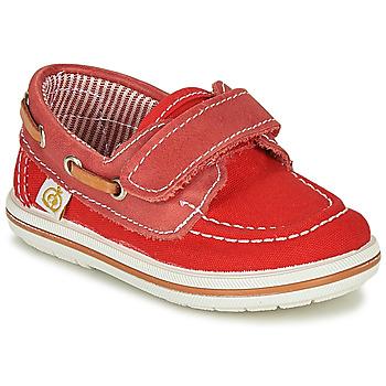 Zapatos Niño Zapatos náuticos Citrouille et Compagnie GASCATO Rojo