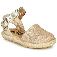 Zapatos Niña Sandalias Citrouille et Compagnie MIOSOTIS Oro