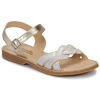 Zapatos Niña Sandalias Citrouille et Compagnie MADELLE Plata