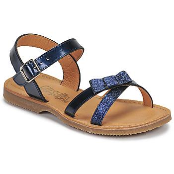 Zapatos Niña Sandalias Citrouille et Compagnie JISCOTTE Marino