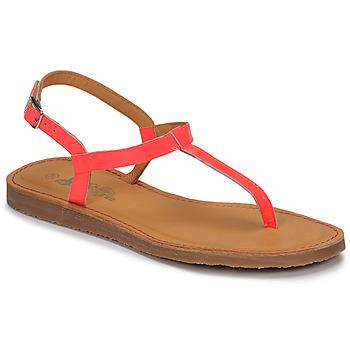 Zapatos Niña Chanclas Citrouille et Compagnie MIZZA Rosa / Fluo