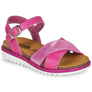 Zapatos Niña Sandalias Citrouille et Compagnie GAUFRETTE Rosa