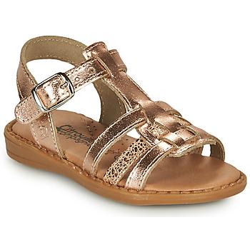 Zapatos Niña Sandalias Citrouille et Compagnie ROLUI Bronce