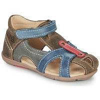 Zapatos Niño Sandalias Citrouille et Compagnie MARIOL Gris / Azul