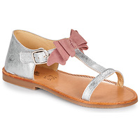 Zapatos Niña Sandalias Citrouille et Compagnie MELINDA Plata