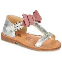Zapatos Niña Sandalias Citrouille et Compagnie MELINDA Rosa / Gold
