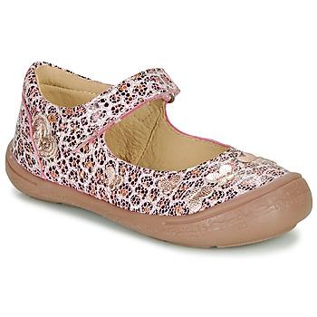 Zapatos Niña Bailarinas-manoletinas Citrouille et Compagnie JALIPINE Leopardo