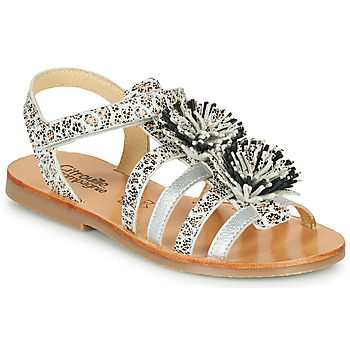 Zapatos Niña Sandalias Citrouille et Compagnie MALINETTE Leopardo