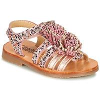 Zapatos Niña Sandalias Citrouille et Compagnie MARINAS Rosa