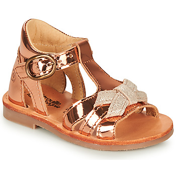 Zapatos Niña Sandalias Citrouille et Compagnie MINIMOME Bronce