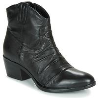Zapatos Mujer Botas de caña baja Mjus DALLAS-DALLY Negro