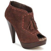 Zapatos Mujer Low boots Via Uno KAMILA Marrón