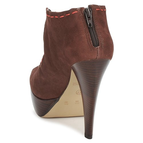 Via Zapatos Low Uno Mujer Kamila Boots Marrón TKc13JuFl5