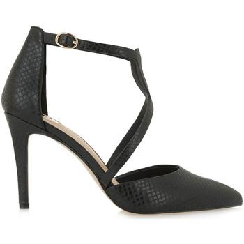 Zapatos Mujer Zapatos de tacón Exé Shoes ZAPATO SALÓN TIRAS COCO GARDA-229 Color Negro