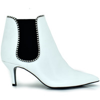 Zapatos Mujer Botines Exé Shoes BOTINES KITTY DETALLES HILLARY-110 Color Blanco