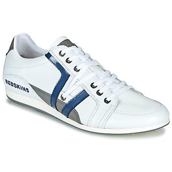 Zapatos Hombre Zapatillas bajas Redskins WARREN Blanco / Azul / Gris