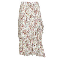 textil Mujer Faldas Betty London MADILOU Blanco / Rojo