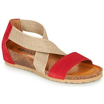 Zapatos Mujer Sandalias IgI&CO 5198177 Rojo