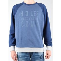 textil Hombre Polaire Lee Graphic Crew SWS L80ODELR azul