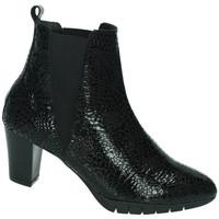 Zapatos Mujer Botas de caña baja Moda Bella BotÍn Negro