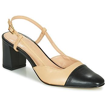 Zapatos Mujer Zapatos de tacón Jonak DHAPOP Beige / Negro
