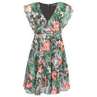 textil Mujer vestidos cortos Guess EULALIA DRESS Negro / Verde