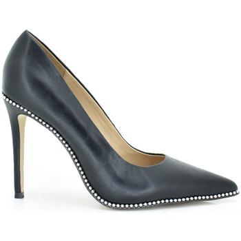 Zapatos Mujer Zapatos de tacón Exé Shoes STILLETO CON REMACHES DANIELA-827 Color Negro