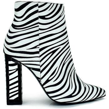 Zapatos Mujer Botines Exé Shoes BOTÍN TACÓN PRINT ZEBRA ROSANA-903 Color Estampado