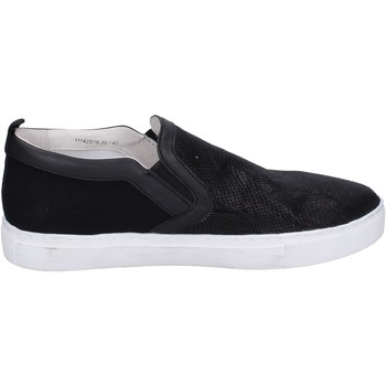 Zapatos Hombre Slip on Crime London BP107 negro