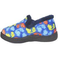 Zapatos Niños Pantuflas Roal Zapatillas De Casa  12002 Dinos Azul