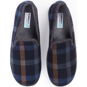 Zapatos Hombre Pantuflas Roal Zapatillas De Casa  12010 Marino Azul