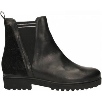 Zapatos Mujer Botas de caña baja Essex VIT. 7392 nero-nero